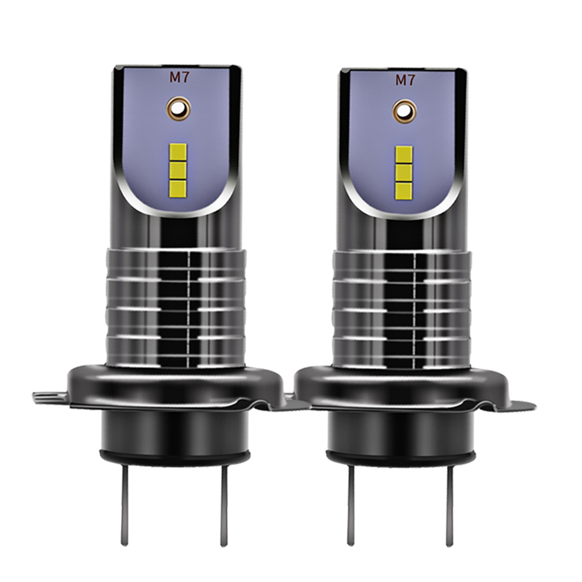 2 шт. светодиодный автомобилей головной светильник ламп Conversion Kit 6000K 7200LM 50 Вт туман светильник Холодный белый IP68 преобразования основного хо...