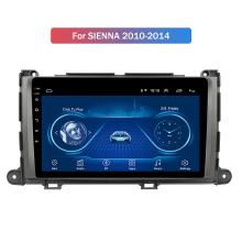 Neue 1 + 16G Android 10 Auto Radio Multimedia-Player für Toyota Sienna 2010-2014 GPS Navigation 2Din