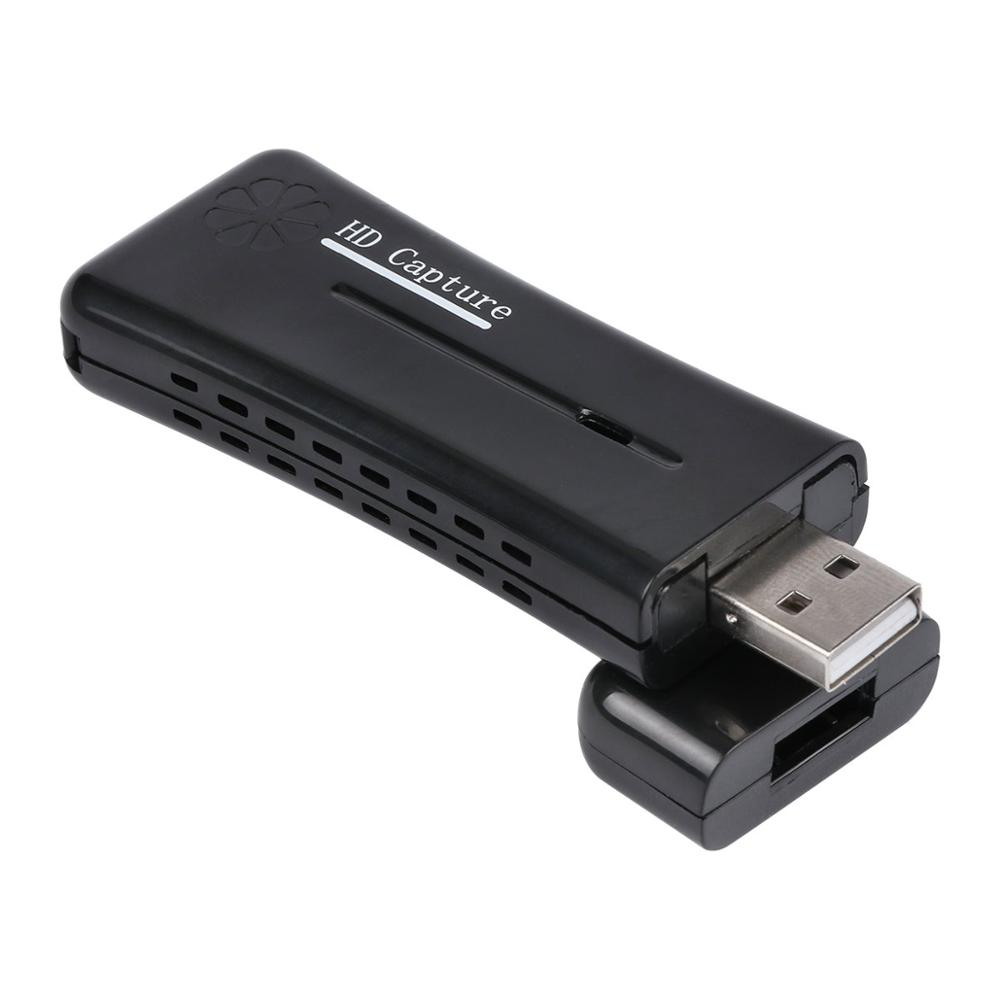 USB 2.0 HDMI 1080P Video Capture Converter Monitor Adapter With Software CD image