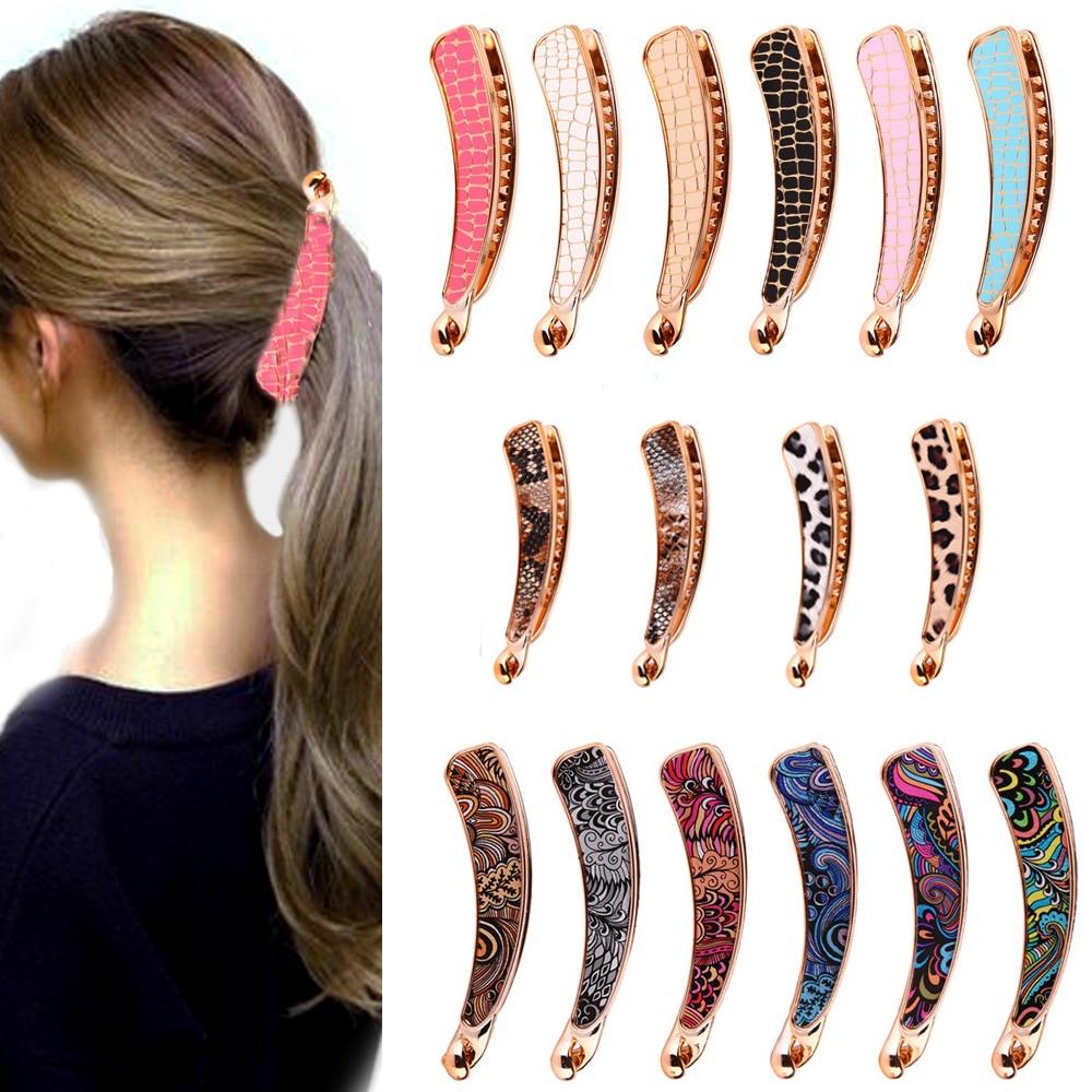 Acrylic Rhinestone Hair Clip Hair Clip Claw Accessor 1pc Hair Claw Banana Clip