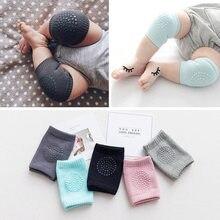 1 par almofada de joelho do bebê crianças segurança rastejando cotovelo coxim infantil bebê perna mais quente joelho apoio protetor joelho do bebê kneecap