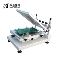 Fast and strong smt stencil machine/Manual high precision screen printing ZB3040H