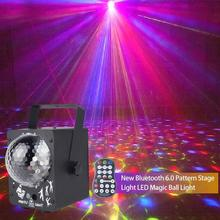 LED Stage Light Disco Laser Light RGB DJ  Disco Ball Lamp  Sound Activated  Projector Light For Dance Halls Bars Party Christmas цена и фото