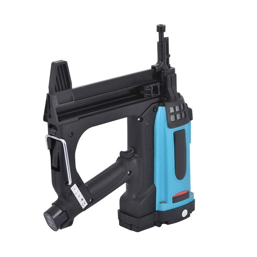 Tools : GSR40 Pneumatic Nail Gun Lithium Battery Gas Nail Gun Steel Air Stapler Pneumatic Tools For Frame And Trunking 110-220V