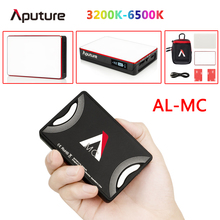 Aputure AL MC 3200K 6500K Portatile HA CONDOTTO LA Luce con HSI/CCT/FX Modalità di Illuminazione Fotografia Video illuminazione AL MC mini RGB luce