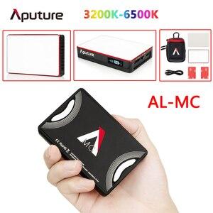 Image 1 - Aputure AL MC 3200K 6500K Đèn LED Xách Tay Với HSI/CCT/FX Chế Độ Chiếu Sáng Chụp Ảnh Quay Phim chiếu Sáng AL MC Mini Đèn RGB