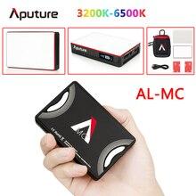 Портативный светодиодный светильник Aputure, светильник HSI/CCT/FX, 3200 6500K, освещение для видеосъемки, светодиодный светильник ing AL MC mini RGB