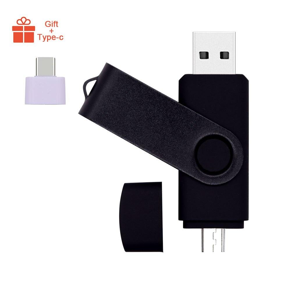 Bảng giá High Speed Pendrives OTG USB 2.0 PC&Smartphone Flash Drive 8GB 16GB 32GB 64GB Metal Customize LOGO Memory Stick(10pcs Free Logo) Phong Vũ