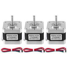 3Pcs 3D printer Nema17 Stepper Motor 17HS4401 42 motor Nema 17 motor 1.5A motor 4-lead for 3D printer