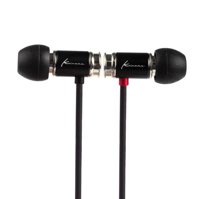 KINERA TYR דינמי נהג באוזן אוזניות HIFI Earplug עם מיקרופון