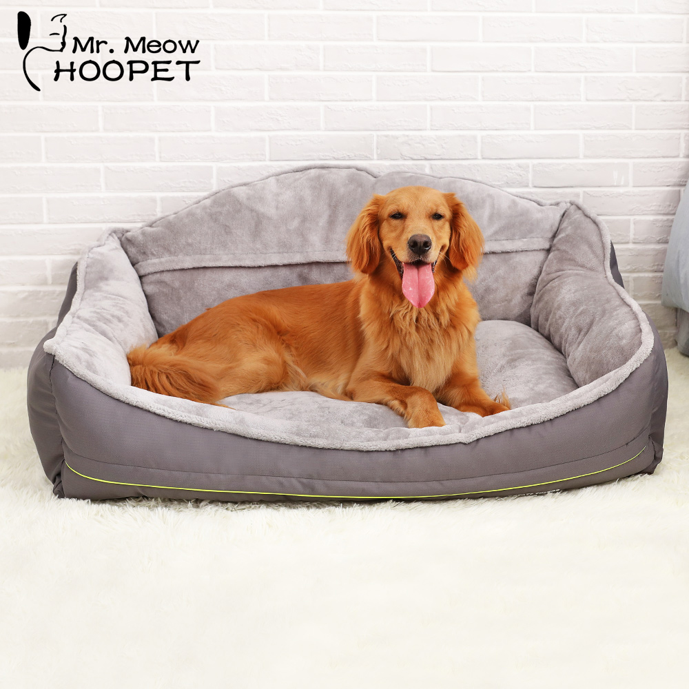 Hoopet Pet Large Dog Bed House Warm Soft Nest Puppy Kennel Sofa Cat House Cat Sleeping Bag Bed