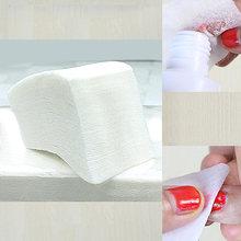 900 шт/упак средство для снятия гель лаков ногтей салфетки очистки