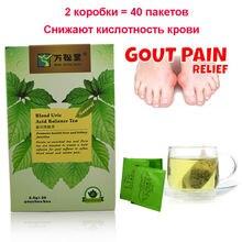 40 шт/2 пачки травяные чайные пакетики в крови баланс мочевой