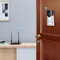 Wireless WiFi Video Doorbell Camera IP 720P Ring Door Bell Video Intercom Two Way Audio APP Control Infrared Night Vision