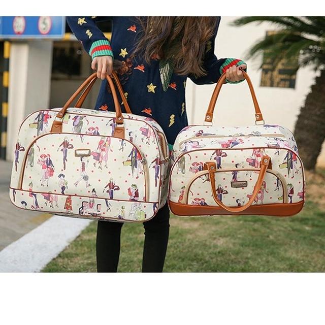 Luggage bags Women Travel Bag Fashion PU Leather High Capacity Waterproof Duffle Bag Large Men Casual Travelling Weekend Bags