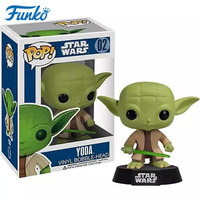 Funko POP star wars yoda master doll model movies & tv toys for boys one piece anime star wars figure popular toys gift