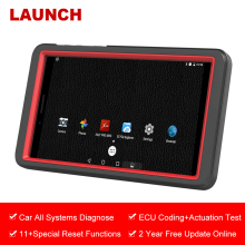 LAUNCH X431 Pro мини OBD2 сканер полная система автоматическое сканирование автомобиля диагностический инструмент WiFi Bluetooth OBD2 сканер мастерская ECU кодирование