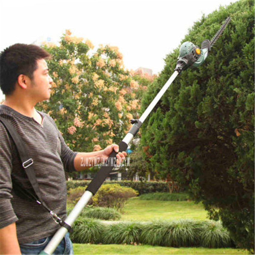 Tools : ET1206 Electric High-altitude Pruning Shear Gardening High Branch Saw Household Telescopic Hedge Trimmer AC220V 450W 1600rpm