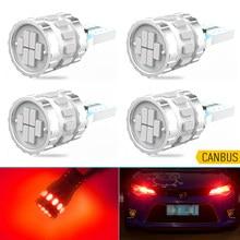 4 pçs t10 w5w canbus led luz de estacionamento lâmpada interior do carro iluminação para vw volkswagen passat b6 b5 b7 scirocco golf 5 4 mk7 t5 polo
