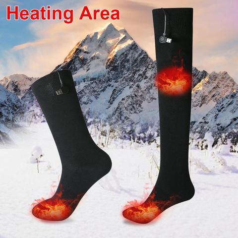 Inteligente de Carregamento Meias de Energia Meias de Aquecimento Inverno para Mulher e Homem Infravermelho Aquecido Móvel Seguro Quente-mantendo no Usb