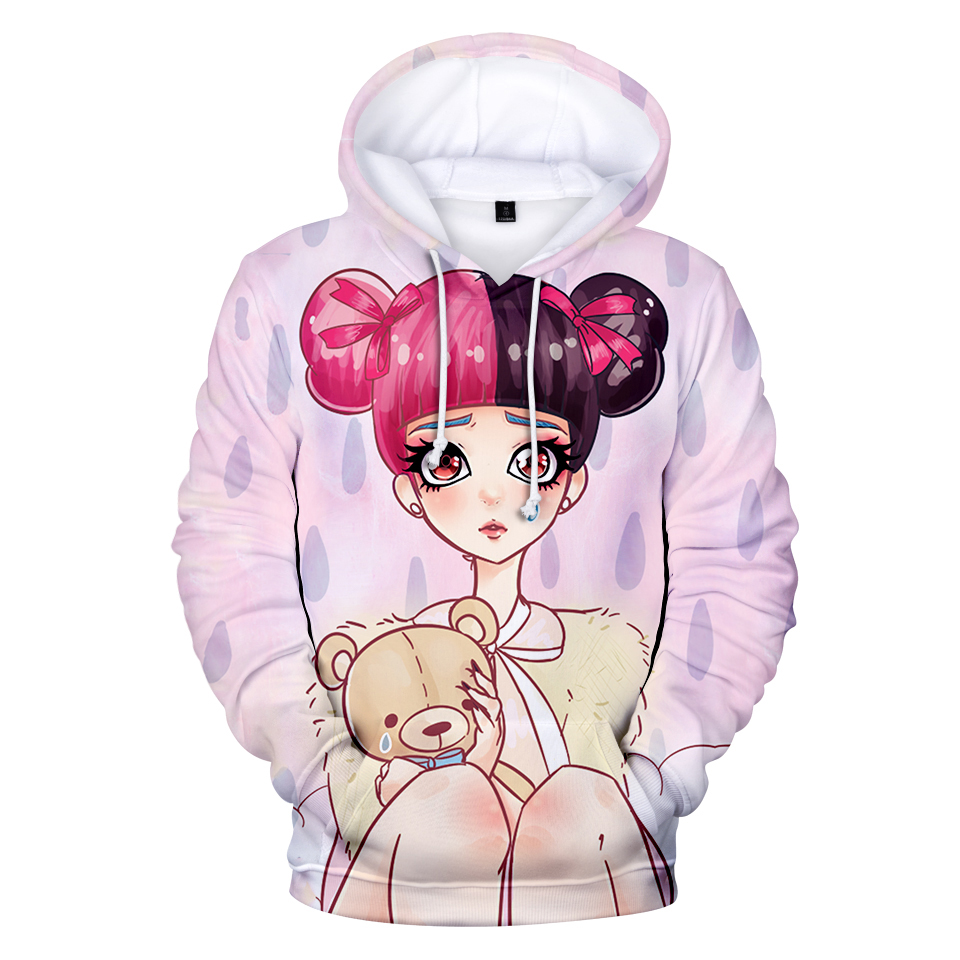 Christmas Hoodie Cry Baby Melanie Martinez  Women Clothing  Hoodie Sweatshirt 2019 Spring Autumn Ladies Harajuku Streetwear
