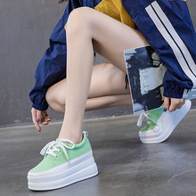 Vulcanized shoes women 2020 spring and autumn increased canvas