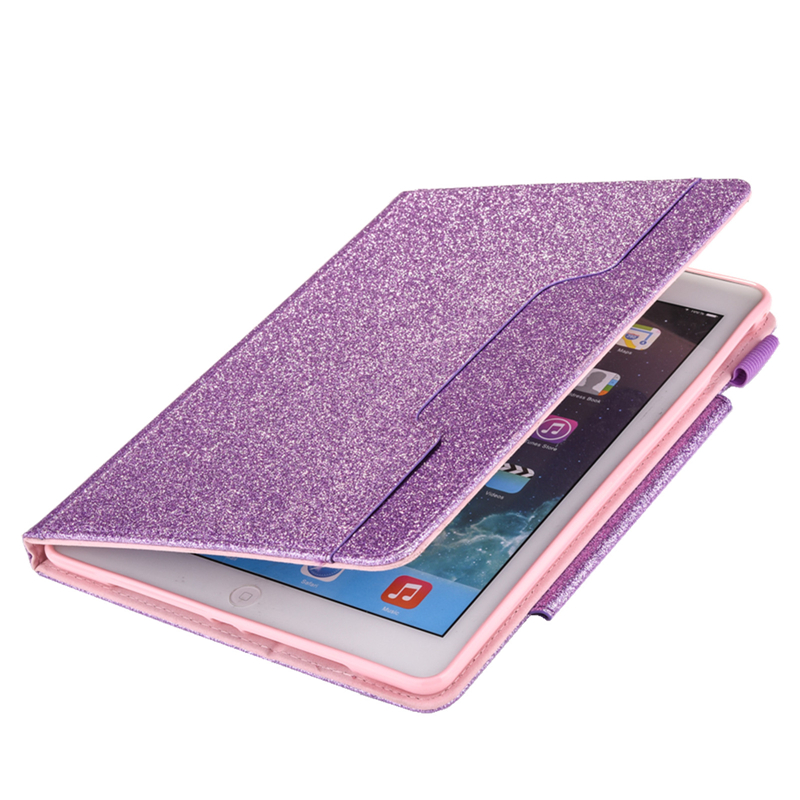 iPad Case Funda 7th Cover iPad Leather Bling 10.2 Glitter 10.2 For Coque For inch 2019