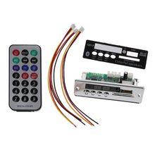 BT SD USB FM Aux Radio MP3 Player Integrated Car USB Bluetooth Hands-free MP3 Decoder Board Module Audio refitting