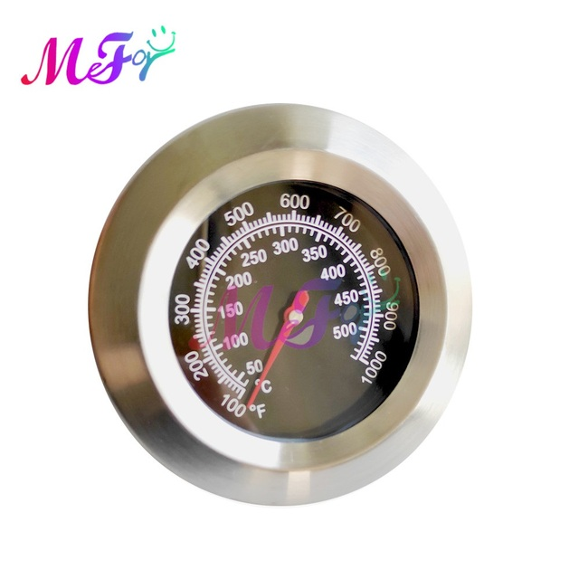 50-500 Degree Stainless Steel Barbecue BBQ Smoker Grill Thermometer Temperature Gauge Meter Oven Kitchen Baking Tool 3