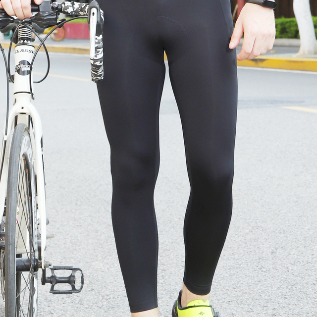 Men's Cycling Pants long Pants 6D Gel Pad Quick drying of high quality fabrics