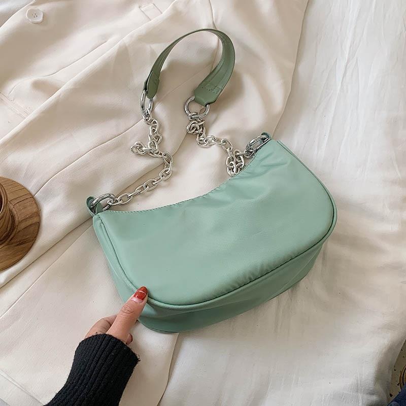 Nylon Crossbody Bags For Women 2020 Leisure Summer Chain Shoulder Messenger Handbags Female Travel Cross Body Bag