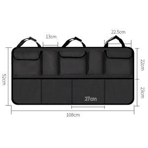 Image 2 - KAWOSEN  Big Size Car Trunk Bag for SUV MPV Universal Back Seat Organizer Car Seat Organizer  Accessories Seat Back Bag CTOB05