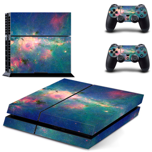 Image 1 - Galaxy For PS4 Vinyl Skin Sticker Cover For PS4 Playstation 4 Console + 2 Controller Decal Game Accessories