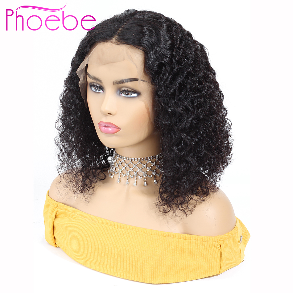 Phoebe Hair 13x4 Bob Wigs Malaysia Lace Front Human Hair Wigs For Women Natural Color Remy