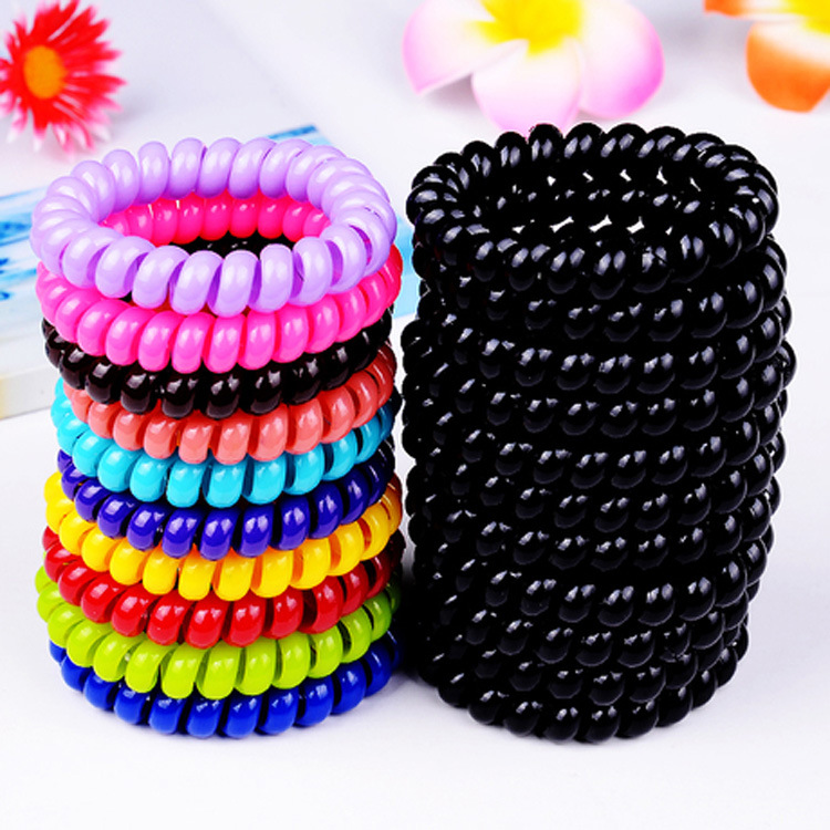 Rubber Bands For Hair Ersion Version Candy-size Elastic Hair Bands Women Hair Accessories Korean Head Rope Brackets Scrunchie