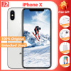 Original Apple iPhone X Hexa Core Smartphone 5.8'' 3GB RAM 64/256/512GB ROM A11 Bionic Unlocked Used iPhone X Mobile Phone 1