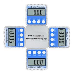Image 4 - 360° Mini Digital Protractor High Precision Electronic Goniometer Inclinometer Digital Level Angle Finder Angle Measurement Box