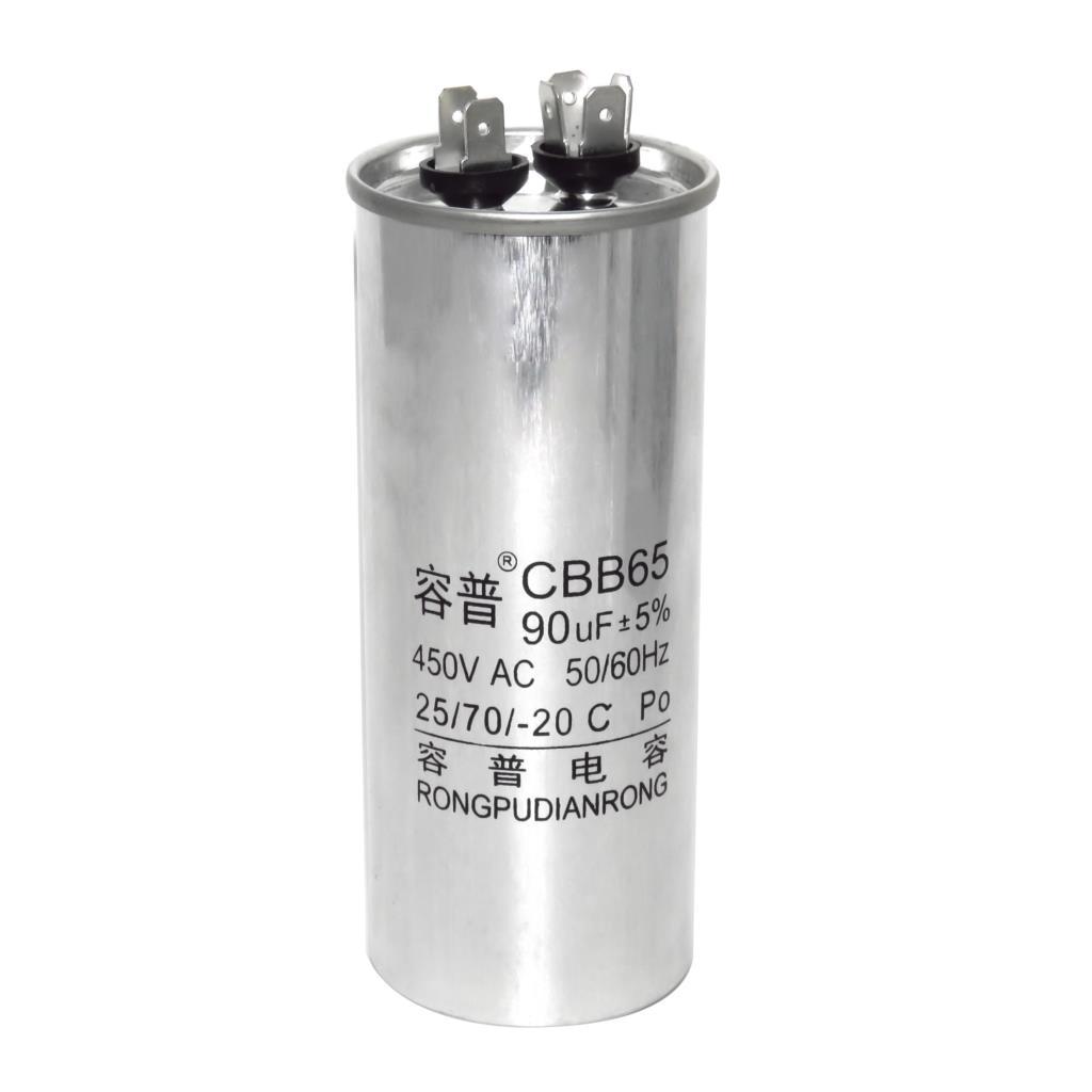 CBB65 Air Conditioner Compressor Start Capacitor 6/10/16/20/30/40/50/60/70 / 80UF 450V