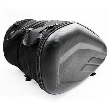 Alforja impermeable para casco de motocicleta SA212, Alforja de carreras, bolsas para...