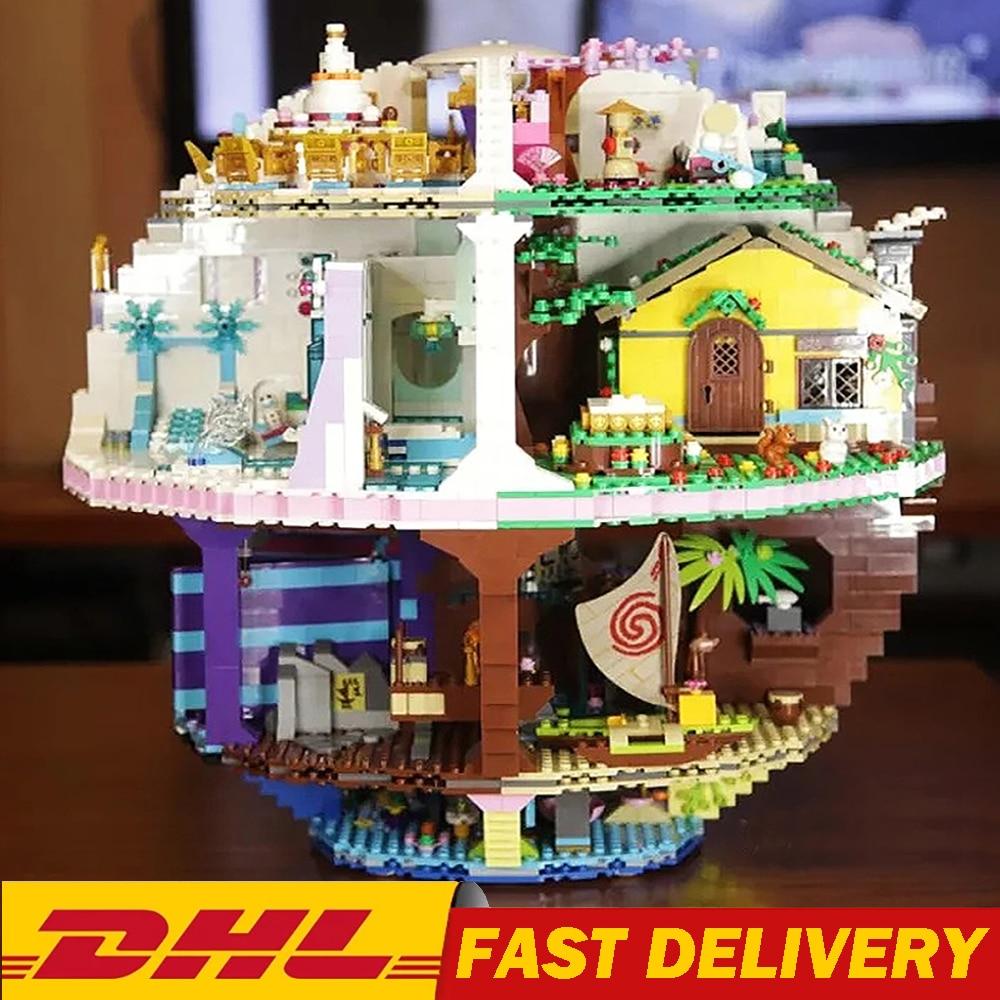 В наличии фильм серии 4160 шт. комплект наряда принцессы звезда несколько модель конструкторных блоков, Детские кубики, развивающие игрушки для детей, подарки на день рождения 1