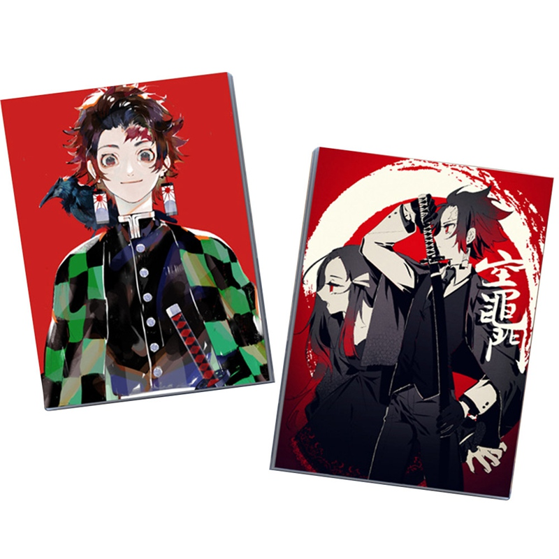 New Fashion Anime Ghost Blade Rubber Sleeve Notebook Notepad Cosplay Accessory Book Prop School Student Gift Office Supplies