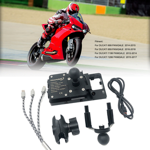 For Ducati 899 959 1199 1299 PANIGALE 2012-2018 2014 2015 2016 2017 Motorcycle USB Mobile Phone Bracket GPS Navigation Bracket