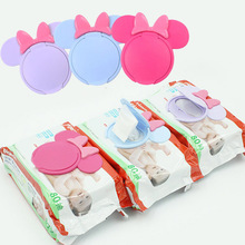 1Pc Cartoon Baby Wet Wipes Lids Reusable Wet Wipes Cover For Wet Wipes Baby Skin Care Portable Travel Wipes Tissues Bag Covers wet wipes chicco cleansing wipes for breast 80 pcs 0 kidwetwipes