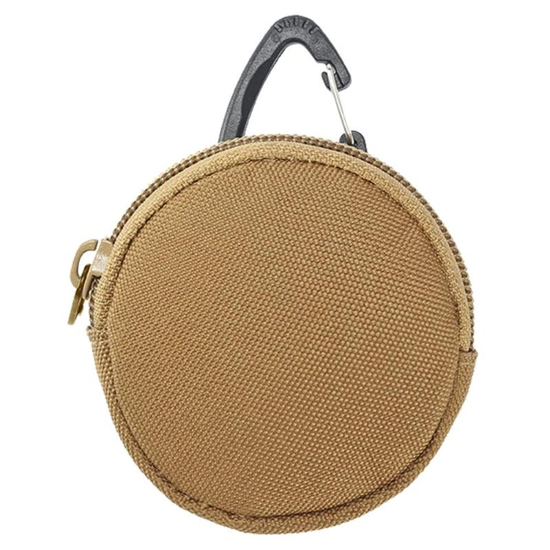 Mini Army Military Tactical Coin Purse Wallet Key Holder Carrying Bag Pouch Portable With Key Chain Ring Small Accessory Bags