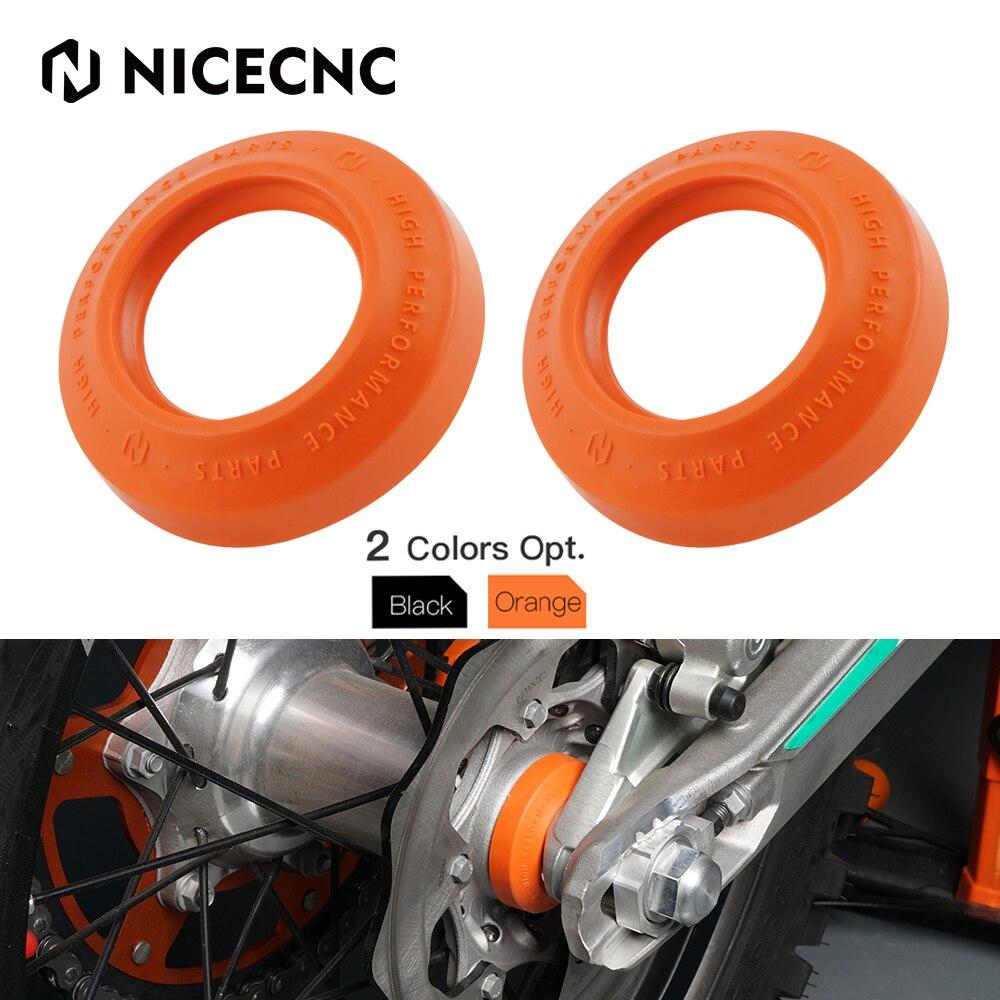 NICECNC Hinten Rad Spacer Lager Protector Schutz Für KTM 125 150 200 250 300 350 400 450 500 530 SX SXF XCF EXC EXCF EXCF-W TPI