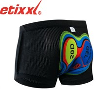 Cycling Shorts MTB Pro 20D Gel Padded Shockproof Men's Black Bicycle road Bike Underwear Shorts Bicycle Riding clothing