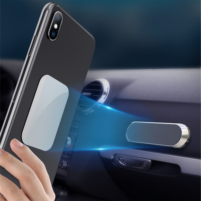 Car <font><b>Phone</b></font> <font><b>Holder</b></font> Magnetic mini Strip Shape Stand For KIA Rio Ceed Sportage <font><b>Mazda</b></font> 3 <font><b>6</b></font> Cx-5 Peugeot 206 307 308 207 image