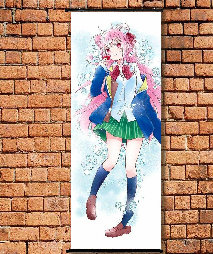 Happy Sugar Life Matsuzaka Satou Hug Body Dakimakura Pillow Case Cover 105CM