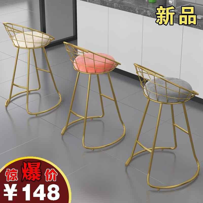 Косметический табурет комод стул современный простой маникюрный табурет светильник роскошный спальня Ins чистая красная спинка стула
