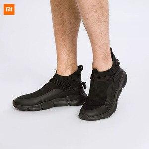 Image 3 - Xiaomi Uleemark קל משקל עף אריגת נעלי אופנה גברים מזדמן נוח לנשימה החלקה Xiomi סניקרס למאהב